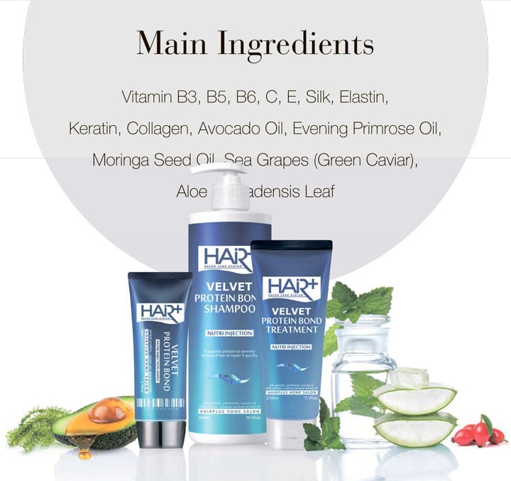 Hair-Plus Main Ingredients