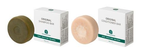 The Vegan Glow Original Shampoo Bar & Conditioner Bar 100g