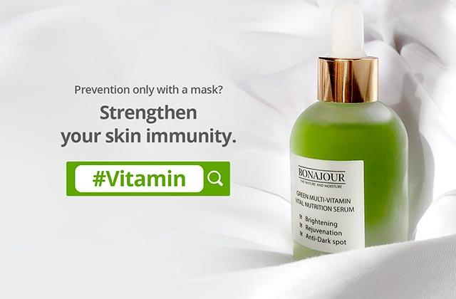 Bonajour Green Multi-Vitamin Vital Nutrition Serum