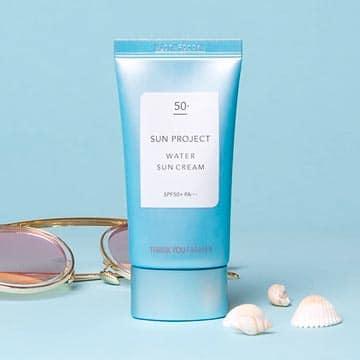 Sun Project Water Sun Cream SPF50+/PA+++
