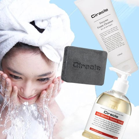 ciracle cleanser and soaps