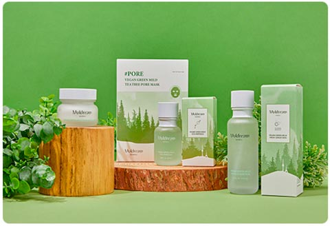 Muldream Vegan Green Mild Product Line