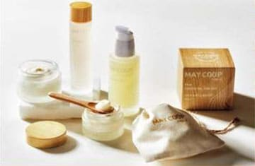 May Coop Raw Line of products is all based on Maple tree sap.