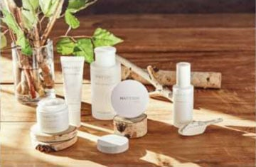May Coop White Line of products is all based on Birch tree sap.